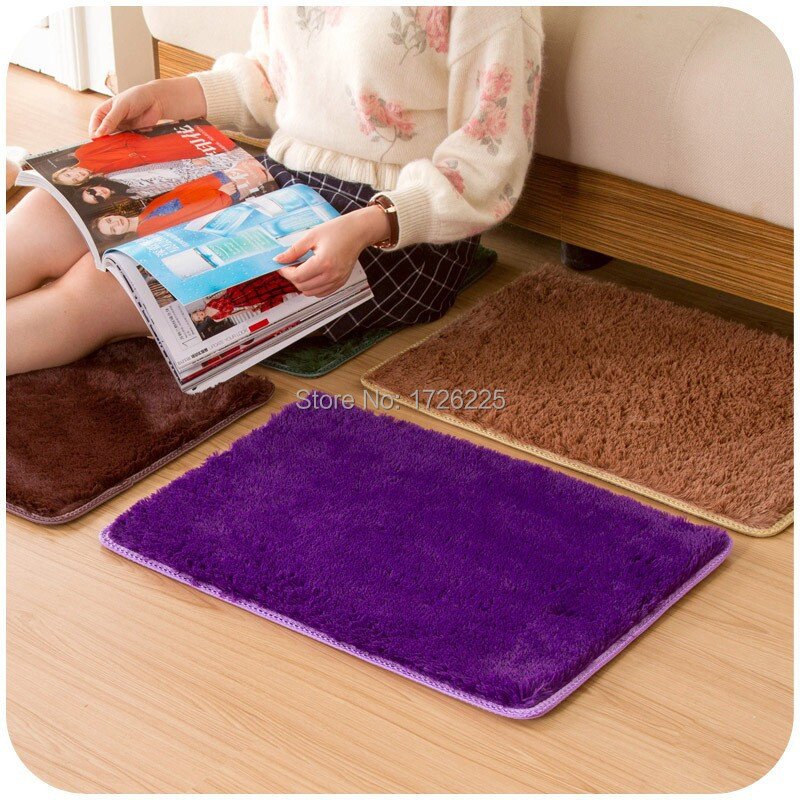 New arrival gold velvet non slip rug home bedroom living - Gold rug for living room ...