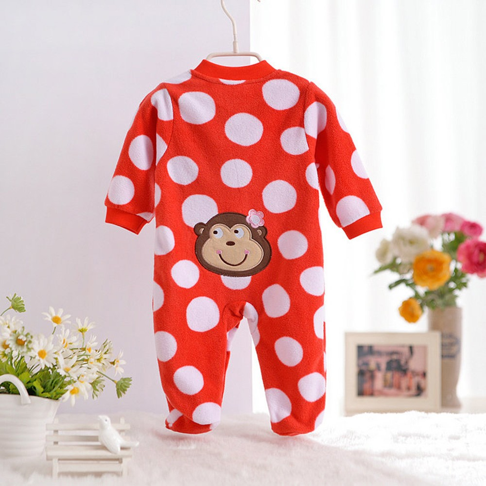 2016-Autumn-Spring-Wave-Point-Baby-Fleece-Pajamas-Rompers-One-Pieces-Long-Sleeve-Jumpsuit-Cute-Animal-Baby-Sleep&Play-Clothes-CL0886 (32)