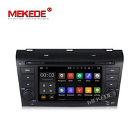 MEKEDE M518 7inch 2din Quad core pure android 7.1 car radio car gps dvd player for Mazda 3 2003 2009 support google playstore