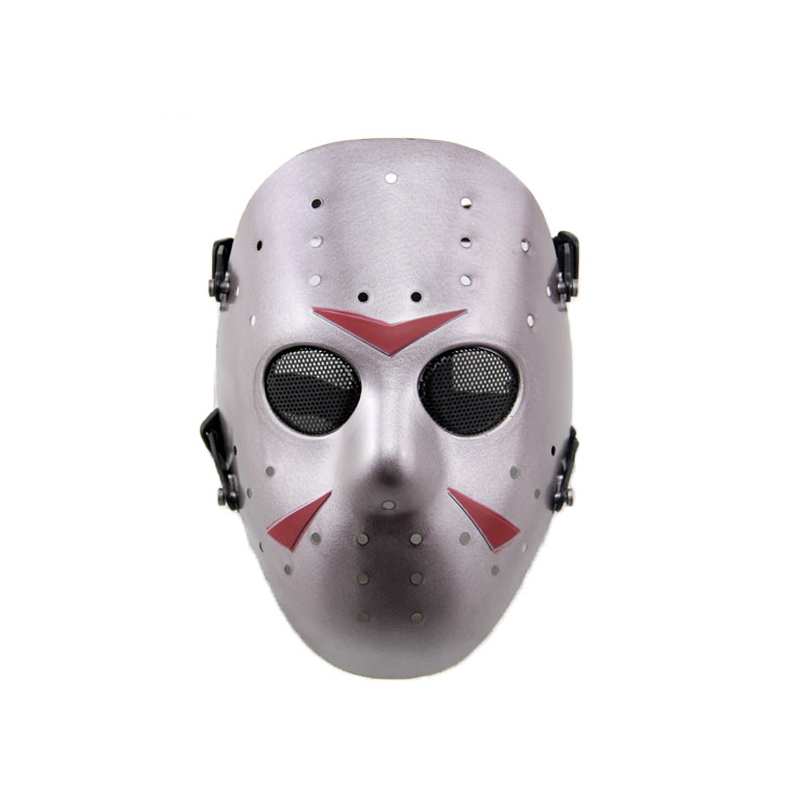 Back To Search Resultshome Outdoor Tactical Wargame Mask Full Face Airsoft Paintball Cs Equipment Halloween Cosplay Horror Gost Hunting Masks With Goggle Firm In Structure