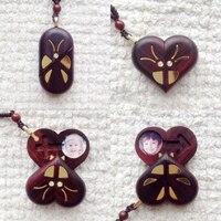 O Ilusionista Medalhão Borboleta Photo Frame Pendant Colares Borboleta Mágica Truque Aniversário Natal Presente do Dia Dos Namorados
