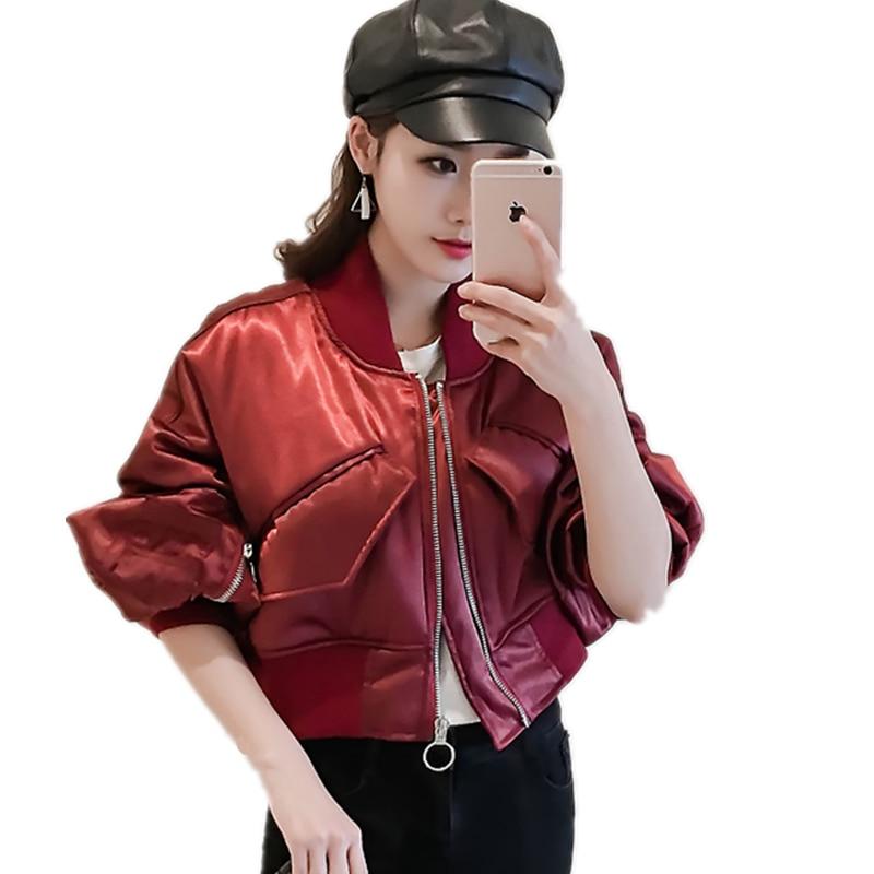 Veste Neeck Stand Manches Nouvelles Base Dames Ly02 Casual À Black Zipper Manteau Femme red Survêtement Automne Broderie Longues Printemps Femmes De pant6Y6