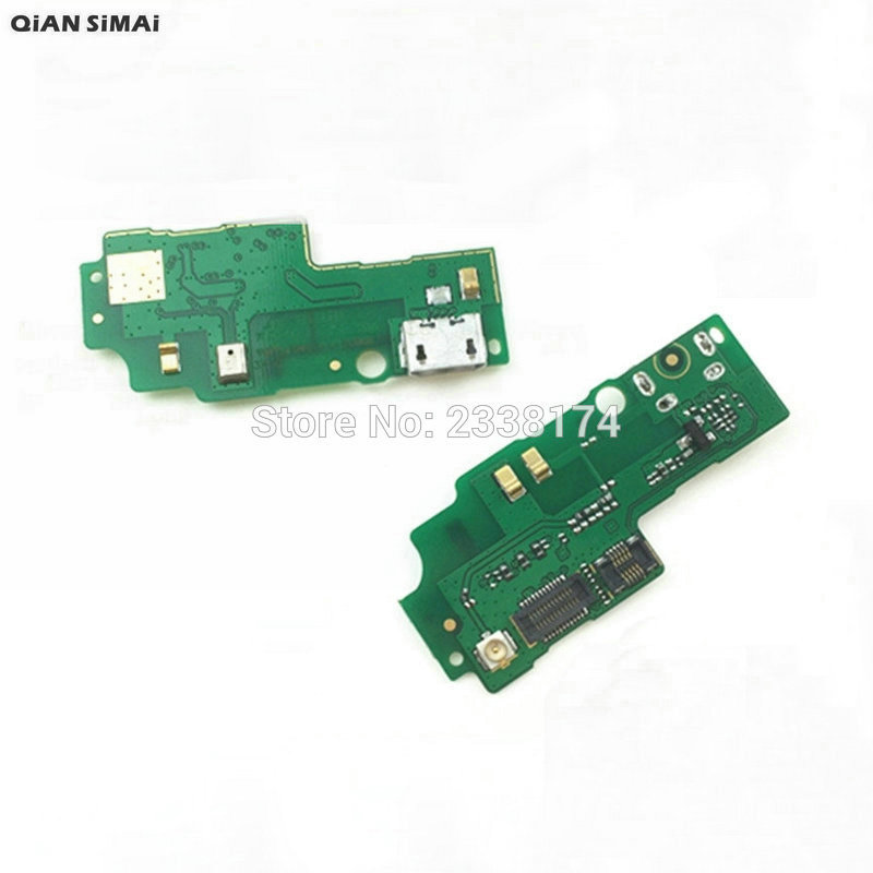 QiAN SiMAi For Huawei Honor 3X G750-T00 G750-T01 G750-T20 /U10 New USB Charging Flex Cable Board With Microphone Repair Parts
