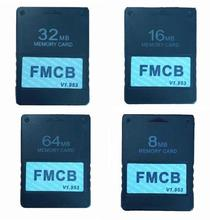 цена на FMCB Free McBoot Card v1.953 Memory Card for Sony PS2 Playstation2 8MB 16MB 32MB 64MB Memory Card OPL MC Boot