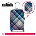 Dispalang Geometric Elastic Polyester Travel Luggage Cover Floral Waterproof Stretch Suitcase Protective Cover for 18-30 Inch