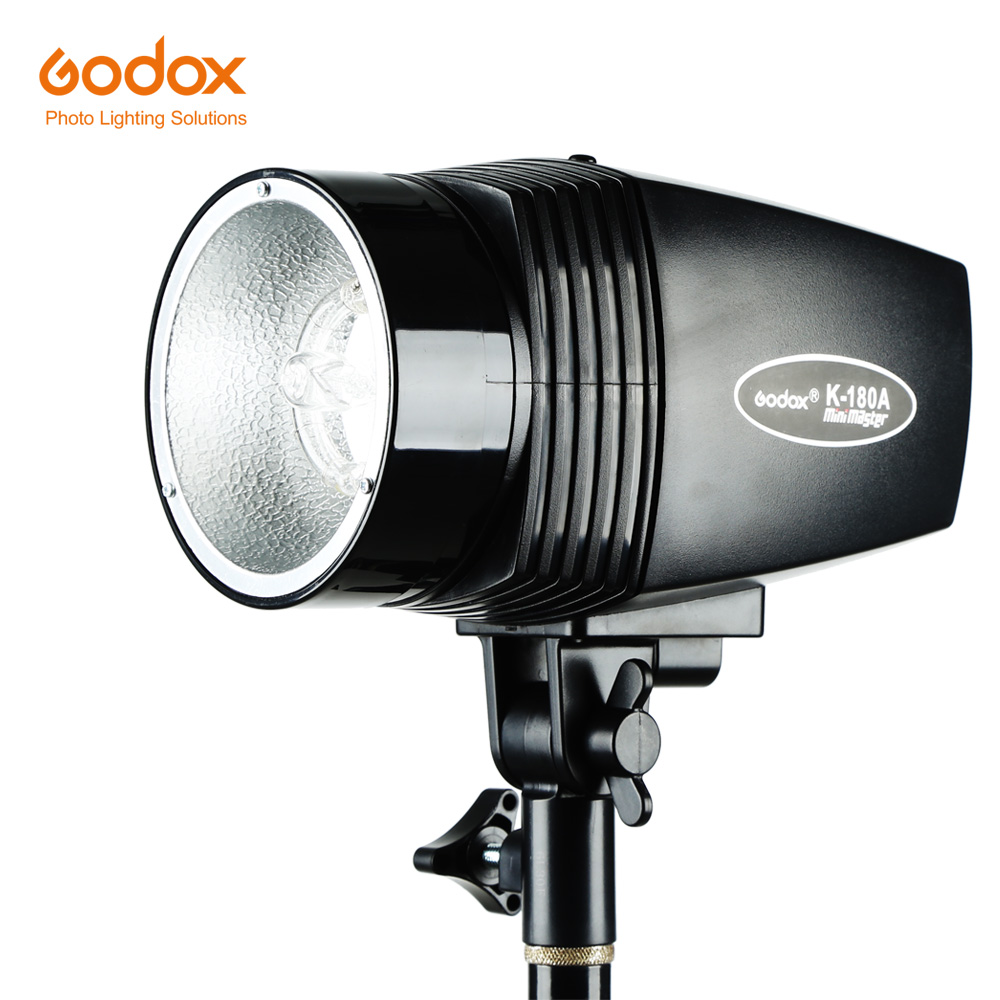 Godox K 180A 180W Monolight Photography Photo Studio Strobe Flash Light Head Mini Master Studio Flash