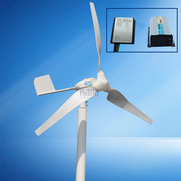 hot selling 600w MAX 800w wind generator with 600w wind charge controller and 1000w pure sine wave inverter wind power generator 400w for land and marine 12v 24v wind turbine wind controller 600w off grid pure sine wave inverter