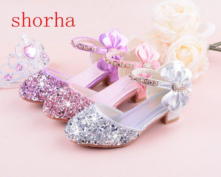 Buoyee Toddler Infant Kids Baby Girls Elegant Bowknot Flower Princess Shoes Sandals