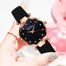 hot deal buy fashion women watches best sell star sky convex diamond dial clock luxury women's bracelet quartz wristwatches for gifts