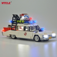 MTELE Led Light Kit For Ghostbusters Ecto-1 Lighting Set Compatible With 21108 (Not Include The Model) цена