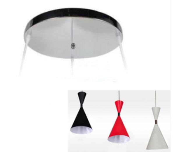 Retro Modern Bedroom Single Head Light Creative Living Room Restaurant Light Bar Counter Three-piece Chandelier