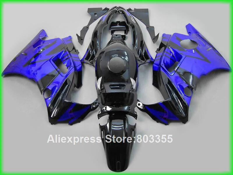 Glossy Blue fairings for Honda CBR600 F2 1991 - 1994  free custom Abs fairing kit 91 94 xl43 мото обвесы hjmt 93 94 cbr600 f2 91 94 f2 cbr600 f2