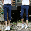 2016 New Shorts Men Fashion Designer men big sale Summer clothes Slim Fit Denim Shorts Men's Cropped Pants