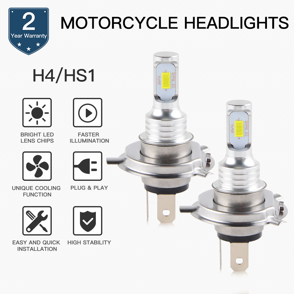 NICECNC ATV 100W LED Headlight Bulbs Lamp For Polaris Sportsman 500 800 850 TRAIL BOSS 330 HAWKEYE 300 2X4 4X4