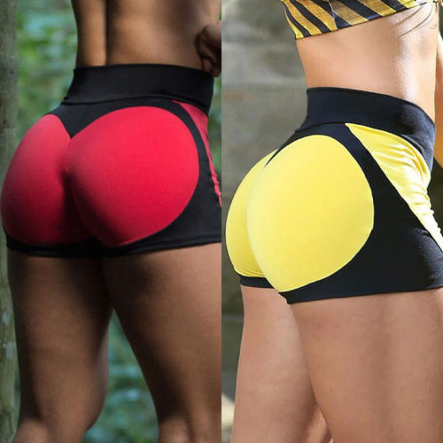 2017 New Fashion Womens Heart Short Slim Casual Trousers Workout Shorts