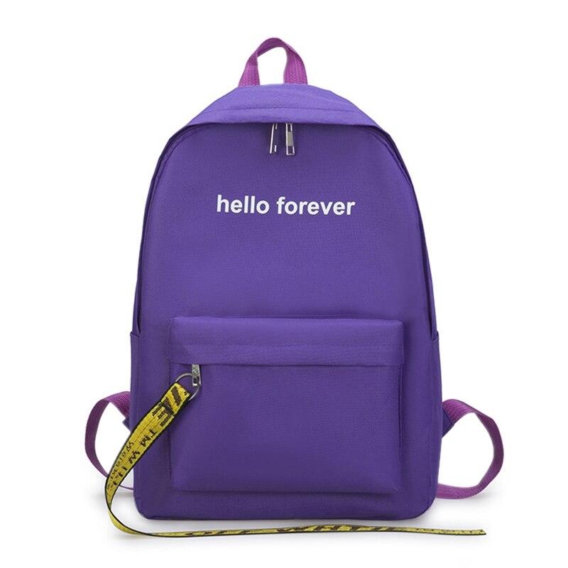f9fabd9aeb9b Модная ткань Оксфорд для мужчин и женщин Рюкзак школьников прилив пакет  отдыха дорожная сумка