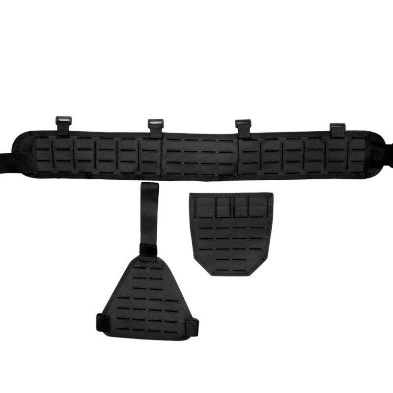 Outils d'extérieur Ultra-large 1000D Nylon élastique respirant rapide détacher ceinture abdominale étui porte accessoire de chasse - 5