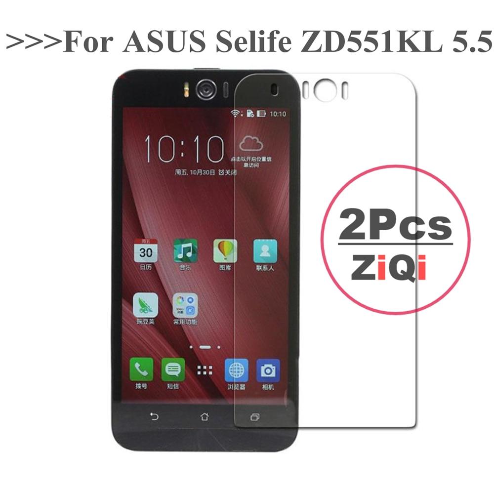 2 Stück Premium für ASUS Zenfone Selfie ZD551KL Displayschutzfolie - Handy-Zubehör und Ersatzteile