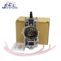 Sclmotos Motorcycle parts silver 28mm 30mm 32mm 34mm PWK Carburetor With Power Jet Fit Race Scooter