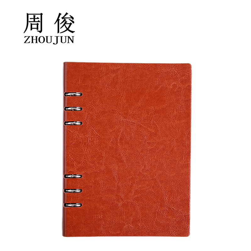 minute book Spiral Notebook Diary Notepad for meeting table Vintage - meeting note pad