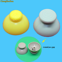ChengHaoRan For Gamecube Analog Joystick Thumbsticks Button Thumb Grip Stick Cap For NGC Controller 2pcs repair parts replace