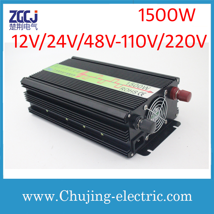 High quality modified sine wave power inverter DC-AC inverter 1500W intverter Voltage converterHigh quality modified sine wave power inverter DC-AC inverter 1500W intverter Voltage converter