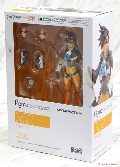 Figma 352 Game OW Character Tracer 14cm BJD Action Figure Model Toys 1
