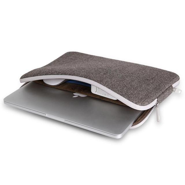 Top Vendendo Homens Sentiu Bolsa Para Laptop À Prova D' Água 11 12 13 14 15 para macbook air pro retina 12 13 15 saco luva do portátil 13.3