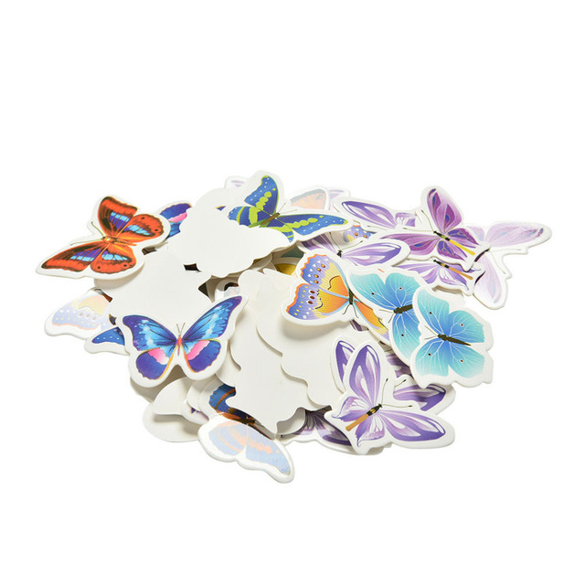 Butterfly & Flower Cupcake Toppers – PVC