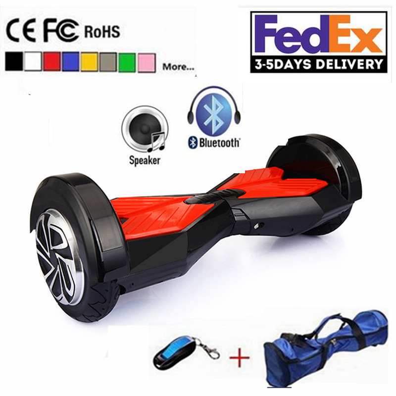 8 inch two wheel scooters hoverboard electric skateboard. Black Bedroom Furniture Sets. Home Design Ideas