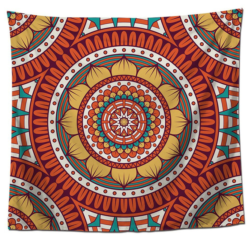 Image 3 - Home Decor Wall Tapestry Hanging Tapestry Simple Creative Printing Home Creative Wall Hanging Wall Decoration Dropshipping-in Tapestry from Home & Garden