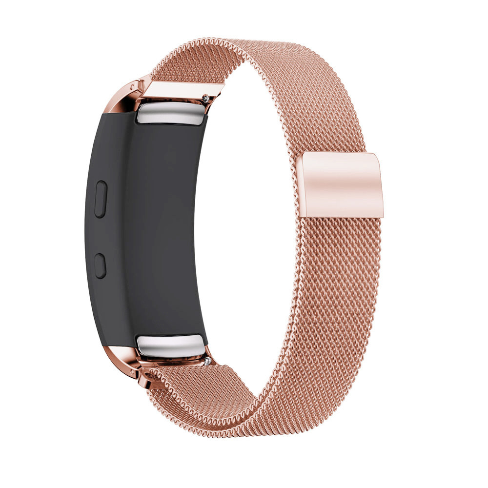 Milanese Magnetic Loop Stainless Steel Band For Samsung Gear Fit 2 SM-R360 High Quality O18 samsung gear fit в казани