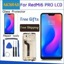 AICSRAD Màn hình LCD hiển thị Cho Xiao Mi Mi A2 Lite 5.84 inch Bộ số hóa cảm ứng Cho Xiao Mi Đỏ MI 6 Pro Khung Với Công Cụ Miễn Phí