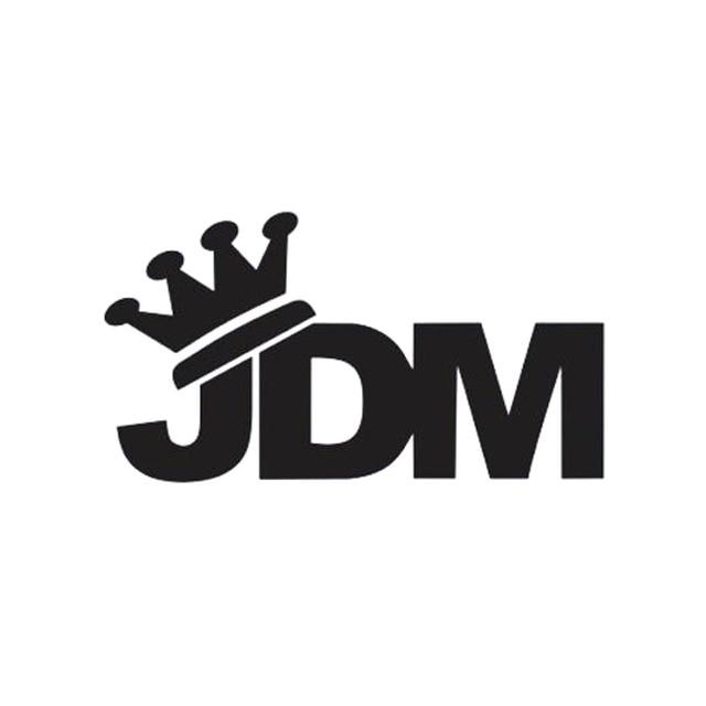 Gaya baru mobil styling untuk raja mahkota jdm sticker vinyl decal jdm drift turbo aksesoris mobil