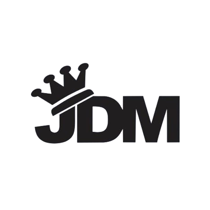 New Style Car Styling For Jdm King Crown Sticker Vinyl