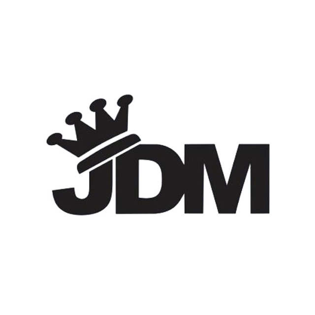 New style car styling for jdm king crown sticker vinyl decal drift turbo car accessories decorate