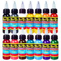 Solong Tattoo Wholesale - New Solong Tattoo Ink 14 Colors Set 1oz 30ml/Bottle Tattoo Pigment Kit TI301-30-14