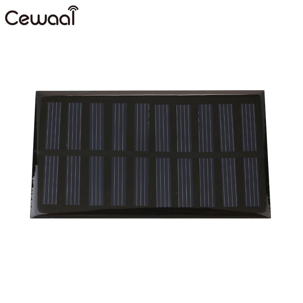 Solar Cells 5.5V Portable Solar Energy Photovoltaic Panels Polysilicon Sun Power Solar Panel Durable 107X61mm
