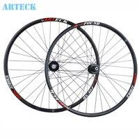Arteck 29นิ้วmtbจักรยานเสือภูเขาwheelsetสูตรฮับ32หลุมจักรยานc lincherริมจัดส่งฟรี
