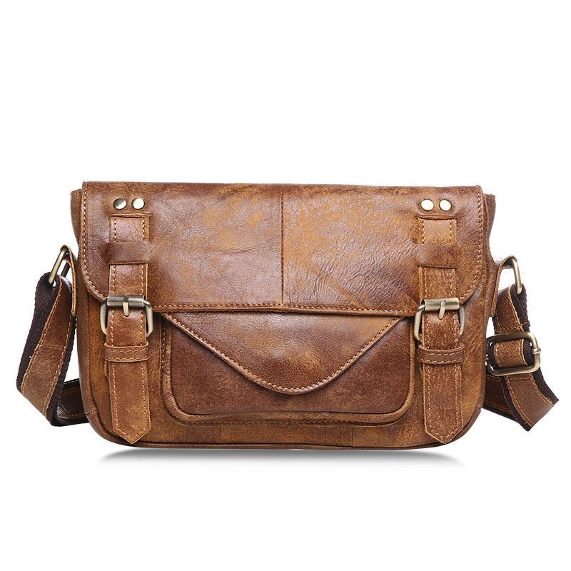 Messenger Männer Retro Satchel Nubuk Paket Leder Tasche Winter Neue Casual Bjyl 1 2 Flut FAq8w