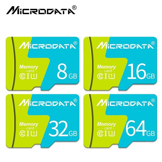 Venta caliente nueva tarjeta de memoria SDCard Clase 10 alta velocidad 8 GB tarjeta Micro SD 16 GB 32 GB TF tarjeta de 64 GB microsd de 128 GB Mini tarjeta de memoria Flash