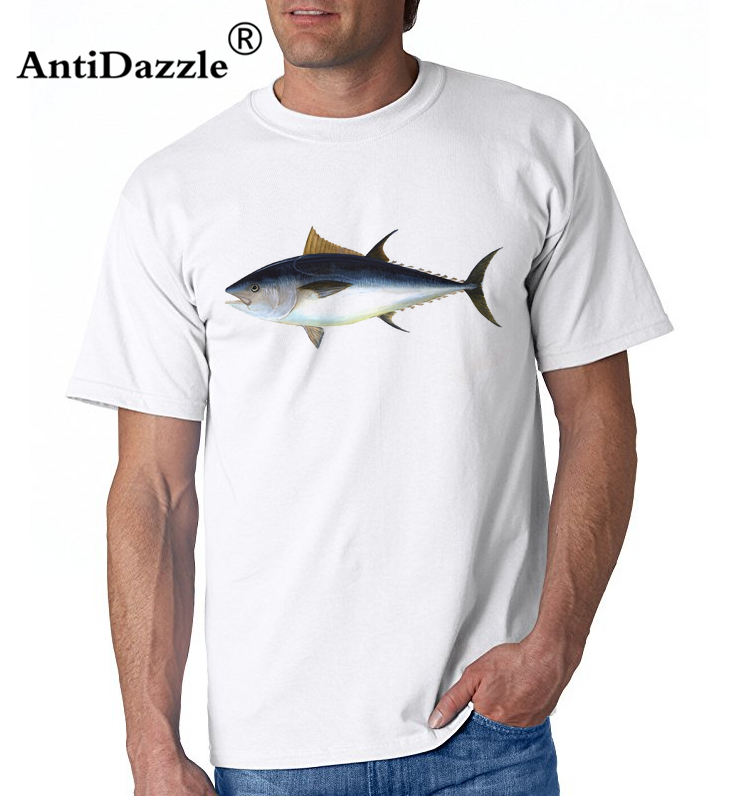 Antidazzle 3D SEA tuna fish Printed T-shirts Men Tops Tees Casual Men's Clothing Summer Style T shirts Funny novelty