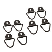 8 Pcs V-Ring Tie-Down Trailer Anchor Replacement For D-Ring Plastic Flush Mount Pan Fitting Cargo Net Tie Down Strap 55x58mm цена
