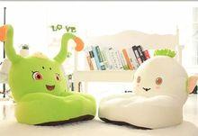 Baby Seat kids toys Beanbag Cartoon Kawaii Cute Caterpillar Children Sofa for Kids Sleeping Bed Baby
