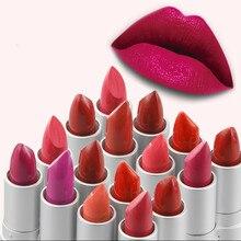 Батом бальзам подарочные косметические губы помада матовый красоты розовый дамы марка