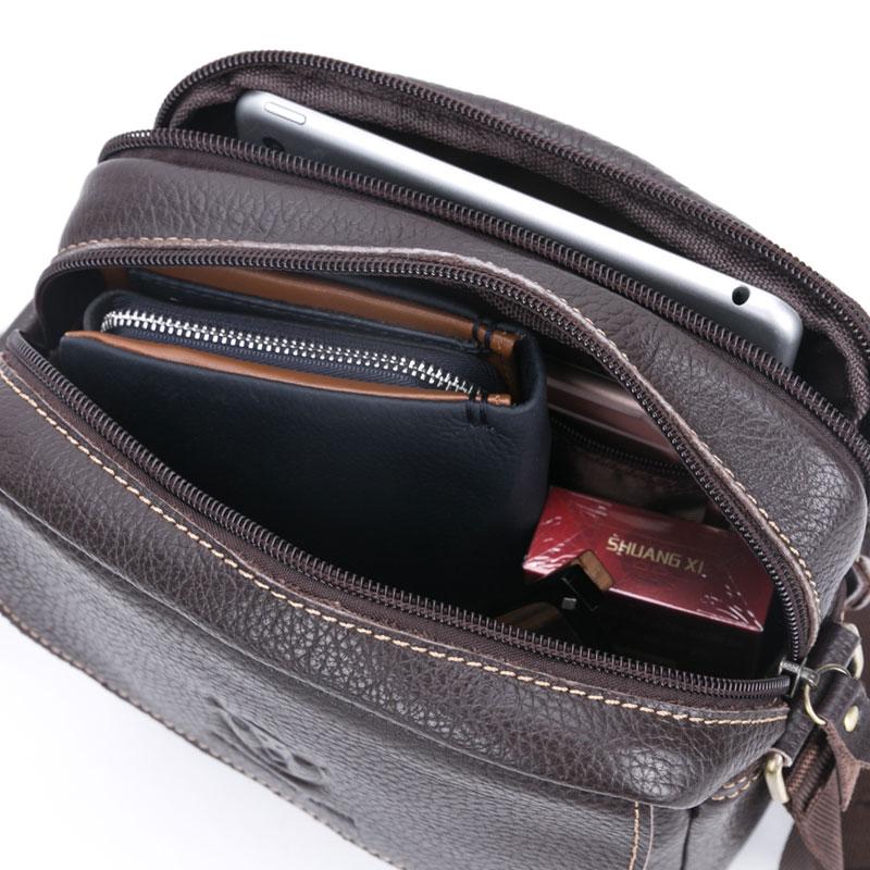 BULLCAPTAIN brändi meeste kott ehtne nahast moodne meeste väike - Käekotid - Foto 6