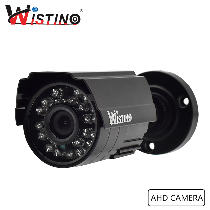 CCTV 1MP Analog Camera Outdoor Bullet AHD Camera Megapixel HD 720P Surverillance With IR Cut Filter Waterproof ONVIF Wistino bullet camera tube camera headset holder with varied size in diameter