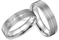 Ателье серебряный цвет Titanium кольца для обувь для мужчин и женщин
