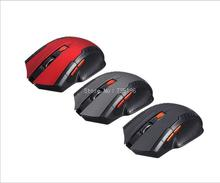 2016 New 2.4Ghz portable Wireless Optical Gaming Mouse Mice For PC Laptop USB Ajustable Button Mouse gamer