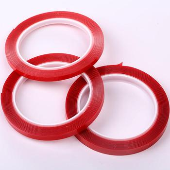 Double Sided Adhesive tape Transparent Heat Resistant Use 6/8/10mmx3m Nail Art Home Improvement Household Furniture Tape 8